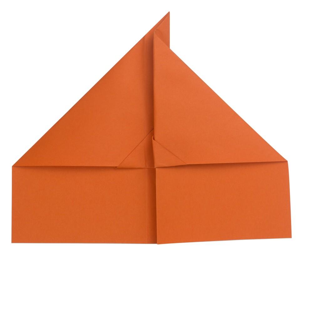 Papierflieger Taube - Schritt 7