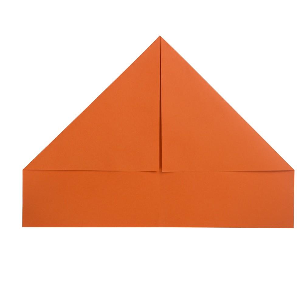 B2 Tarnkappenflieger Papierflieger - Schritt 2