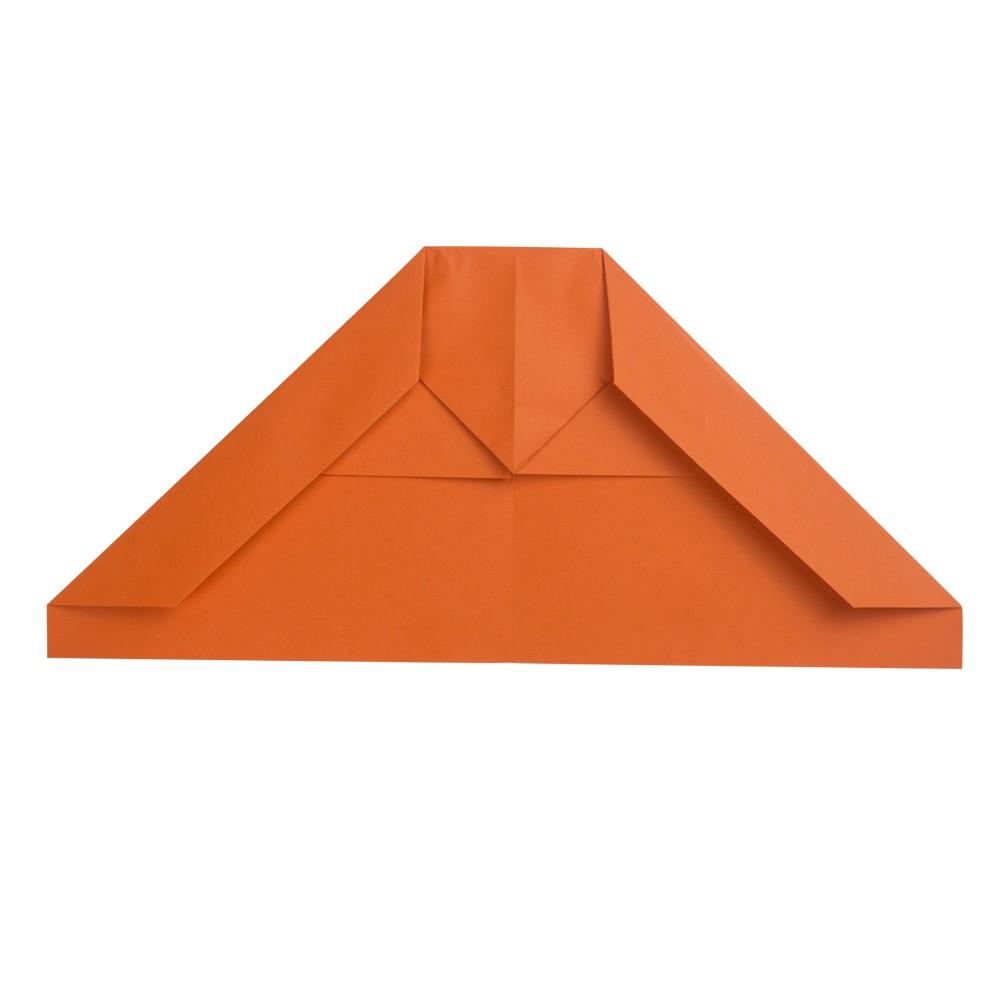 B2 Tarnkappenflieger Papierflieger - Schritt 4