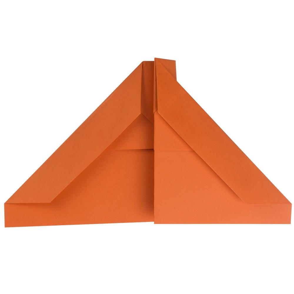 B2 Tarnkappenflieger Papierflieger - Schritt 6