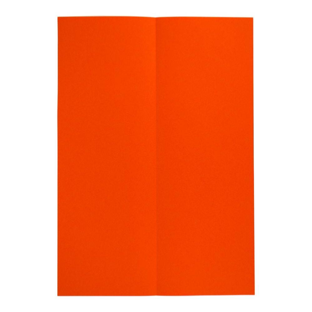 Papierflieger Taube - Schritt 1