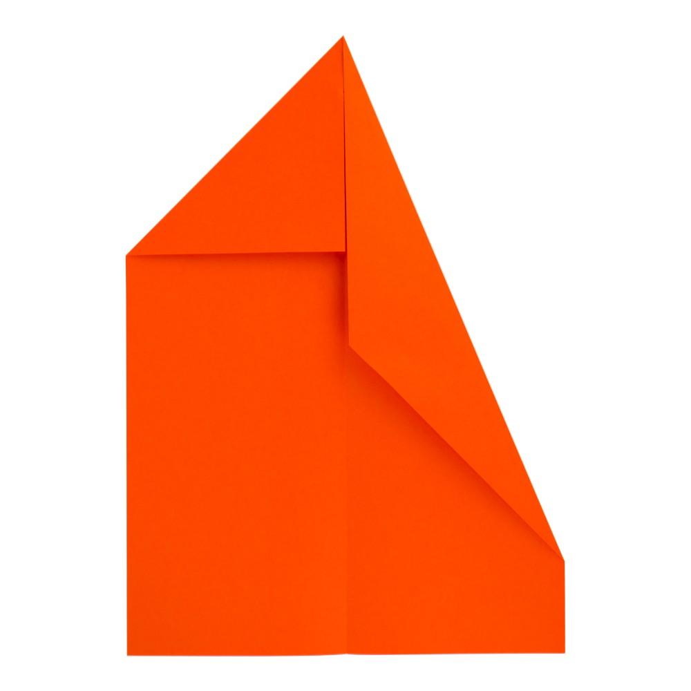 Papierflugzeug Gleiter - Schritt 4