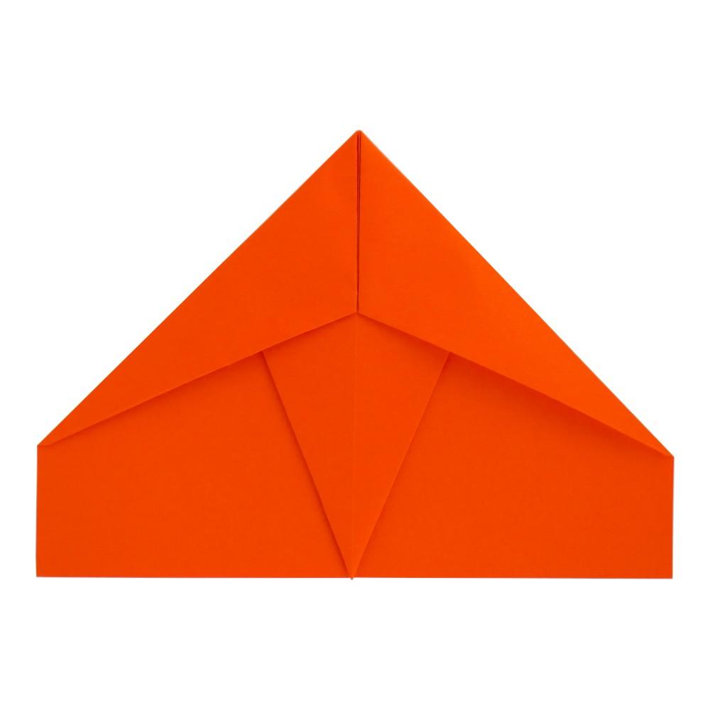 Papierflieger Falke - Schritt 7