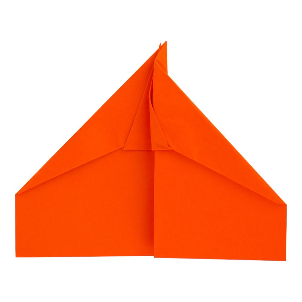 Papierflieger Falke - Schritt 10
