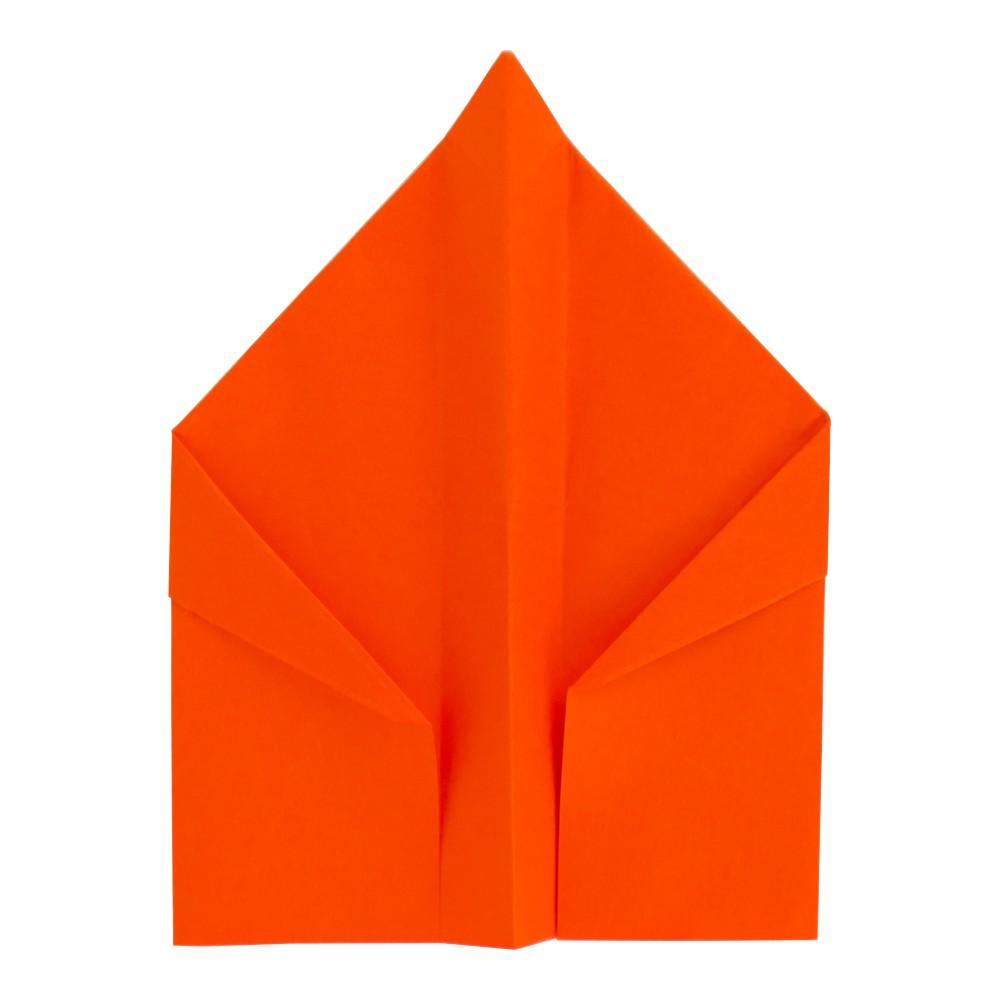 Papierflieger Falke - Schritt 13