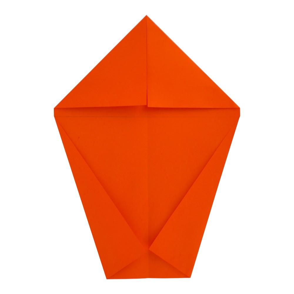 Jet Papierflieger falten - Schritt 4