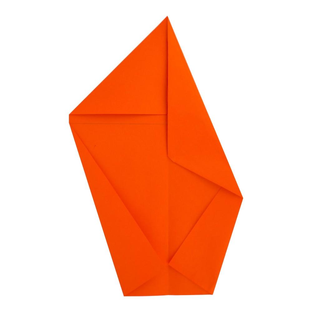 Jet Papierflieger falten - Schritt 5