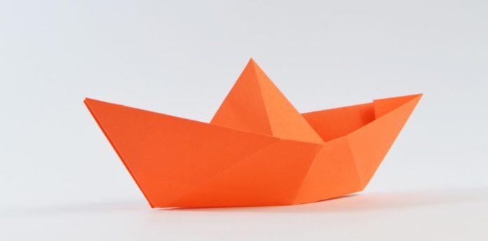 boot falten, papierschiff, papierschiff falten, papierboot falten, schiff falten, boot basteln, einfach basteln