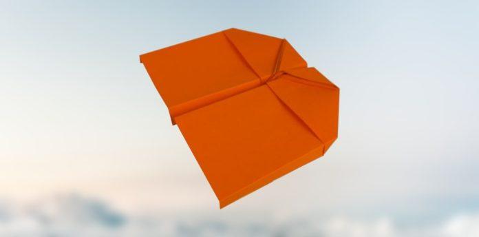 Gleiter papierflieger, einfach basteln, flieger falten, die coolsten papierflieger, der beste papierflieger, papierflugzeug