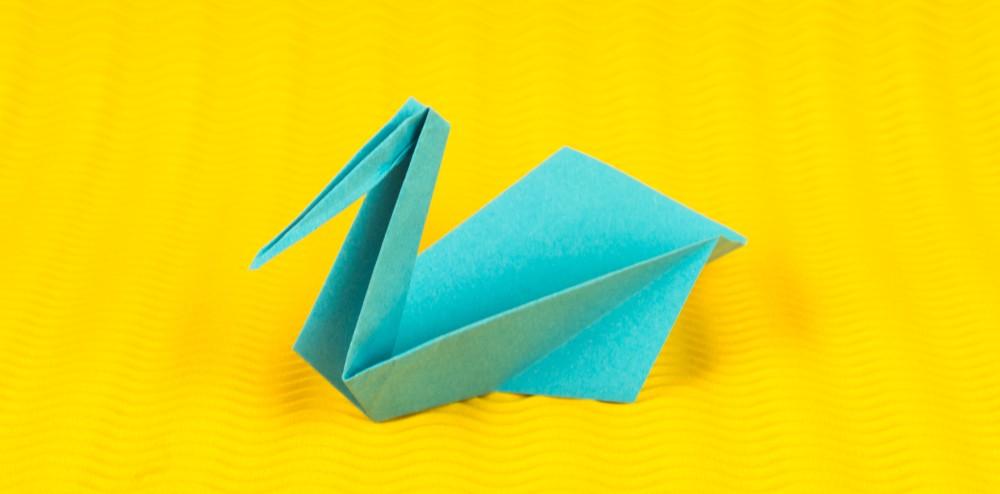 Origami Kranich Faltanleitung Vogel Falten In Nur 9 Schritten