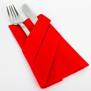 Servietten deko ▪ Bestecktasche falten ▪ Einfache 9 Schritte Anleitung