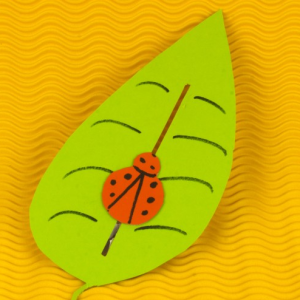 Marienkäfer basteln mit Kindern - Bastelidee für Kinder - Einfach Basteln