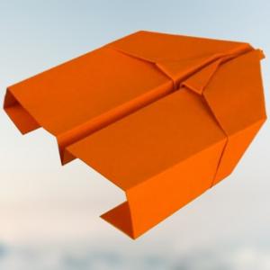Falke Papierflieger basteln - In nur 10 einfachen Schritten zum Flieger ✈