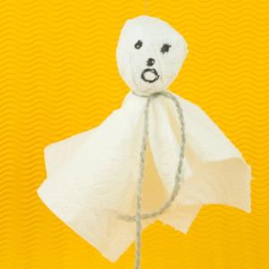 Halloween Deko basteln - Gespenster basteln - Einfache Anleitung!