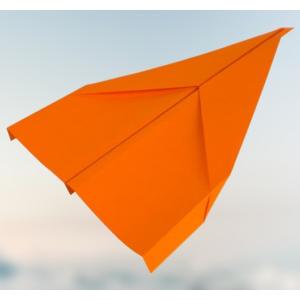 ► Gleiter Papierflieger basteln - In nur 5 Schritten zum perfekten Flieger✈️