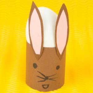 Osterhasen Eierbecher Basteln Osterdeko Basteln Einfache