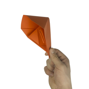 【Knalltüte basteln/ falten - Einfache Anleitung - Knalltüte aus Papier】