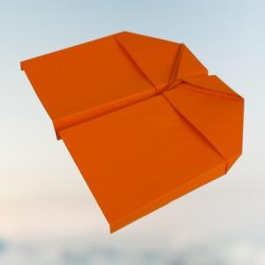 Ausgereifter Kunstflieger ✈️ Papierflieger basteln mit Anleitung