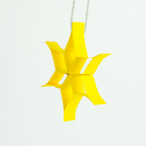 3D Stern basteln - Weihnachtsstern aus Papier basteln - Anleitung!