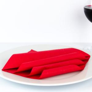 Servietten falten Hochzeit - Welle - Papierservietten und Stoffservietten!