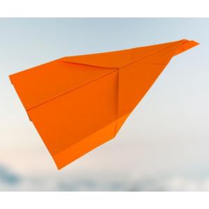 Anspruchsvollen Gleiter basteln - Papierflugzeug falten - Jetzt los legen✈