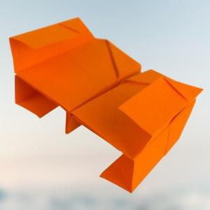 Total abgespaced❗ X-Wing Papierflieger basteln - Der beste Papierflieger❗