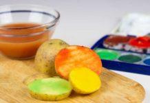 Kartoffeldruck | Kartoffel Stempel selber basteln