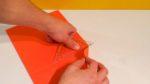 Papier Abreißen, statt schneiden Schritt 1