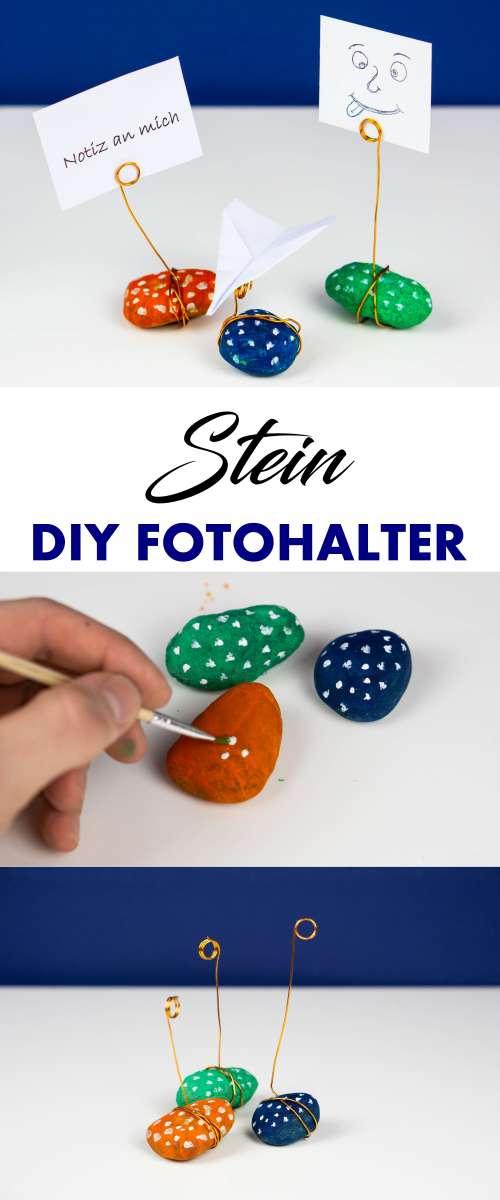 DIY Foto- und Notizzettelhalter zum selber Basteln
