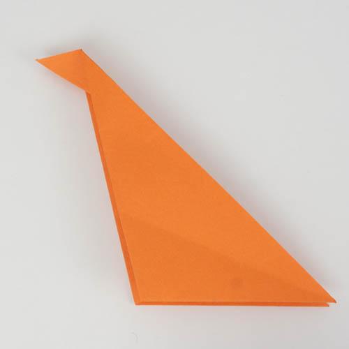 Benötigtes Origami Papier für einen Origami Fisch
