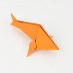 Origami Fisch falten Anleitung - Fisch falten - Origami Tiere Anleitung - Origami für Anfänger