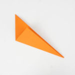 Origami Raubfisch falten - Schritt 4