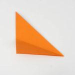 Schritt 5- Origami Papier in Dreiecksform