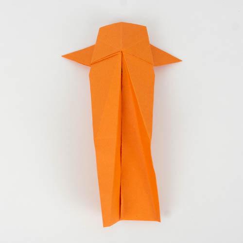 Origami Koi falten