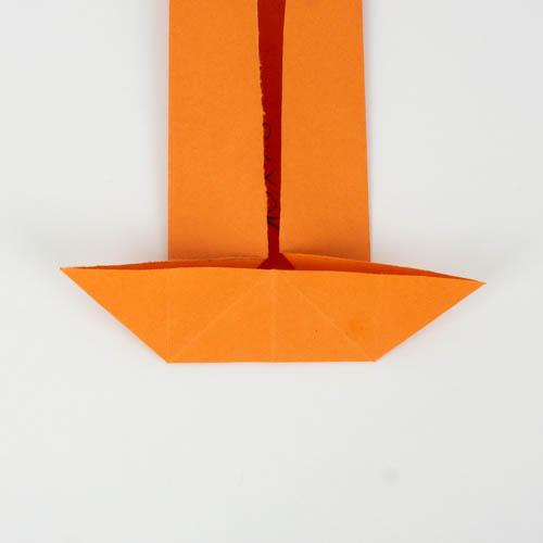 Origami Koi Fisch falten - Schritt 7 von 25