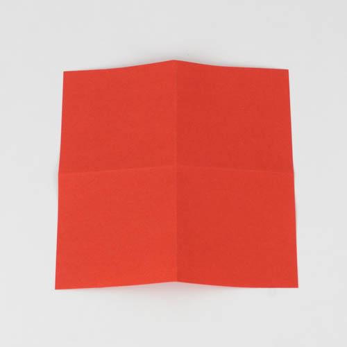 Origami Kranich Anleitung - Schritt 2 von 25