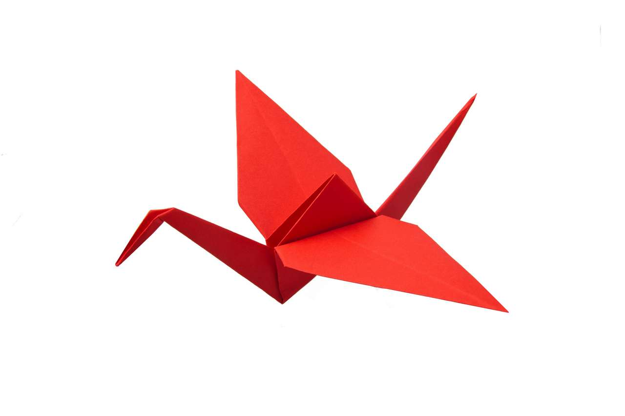Origami Kranich Falten Anleitung 10 Minuten Dauer Origami Tiere