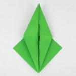 Schritt 11 von 70 beim Falten des Origami Vogels