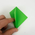 Origami Vogel falten Anleitung - Schritt 14 von 70