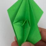 Origami Papagei falten - Schritt 28 von 70