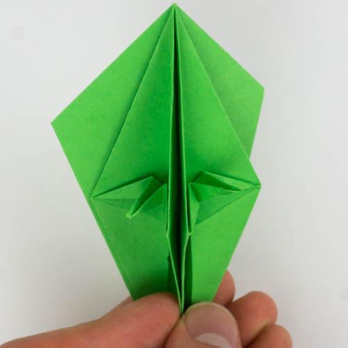 Origami Papagei Falten Nur 7 Minuten Dauer Origami Vogel Anleitung