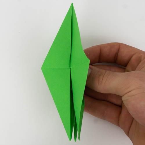 Origami Papagei Anleitung 50 Von 74 Einfach Basteln Com