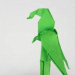 Origami Papagei falten Anleitung - Jetzt schnell und einfach falten