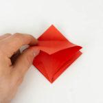 Origami Tropenfisch - Den Körper falten - Schritt 1