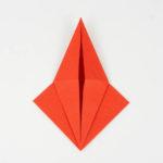 Schritt 14 beim Origami Fisch falten