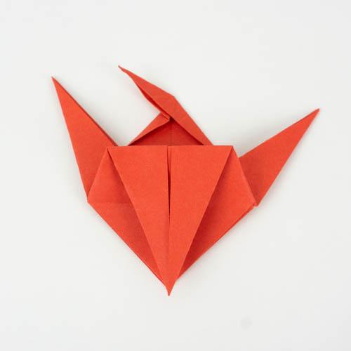 Origami für Anfänger - Fisch falten - Schritt 31