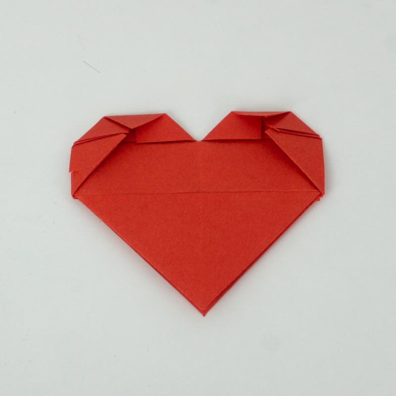 Anleitung, wie man ein Herz bastelt - Schritt 13