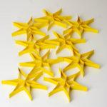 Sterne basteln zum Mobile selber machen