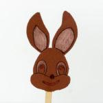 Einen Osterhasen basteln - Basteln mit Kindern zu Ostern - Vorlage zum kostenlosen Ausdrucken