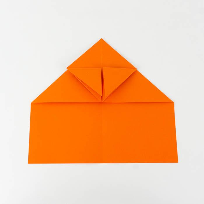 Wie bastelt man einen Papierflieger? - Habicht